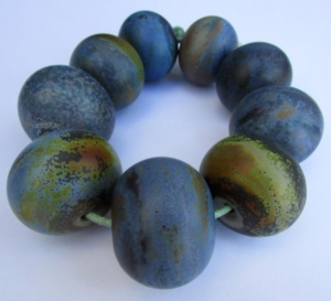 Mary Ila Duntemann Art Glass Beads